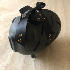 Adorable Modern Piggy Bank - Matte Black